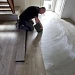 vloer egaliseren voor installatie PVC vloer