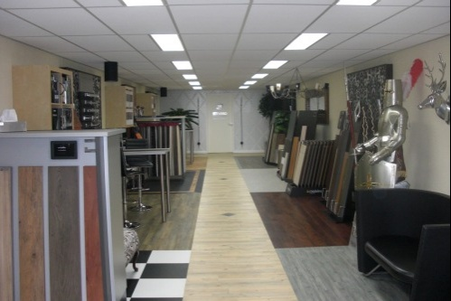 Vinyl vloer pvc vloer pvc vloerbedekking showroom pvc